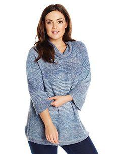 Fashion Bug Plus Size Cowl Neck Pullover Sweater with Bell Sleeve www.fashionbug.us #plussize 1X 2X 3X 4X 5X 6X