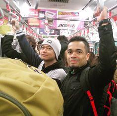 From shinkansen station to Akihabara
