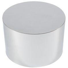 Milo Baughman Drum Table in Chrome