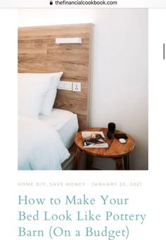 This post helped me make my bed look and feel like a magazine cover! My bed is so luxurious now on a budget! Hotel Mattress, Hotel Bed, Mattress Covers, Throw Pillow Covers, Duvet Covers, Pillow Cases, Make Your Bed, How To Make Bed, Thick Mattress Topper