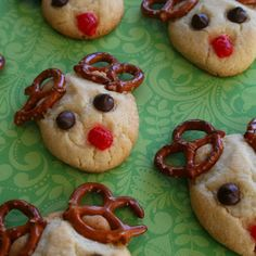 Reindeer Cookies | The 50 Best Holiday Recipes, Crafts