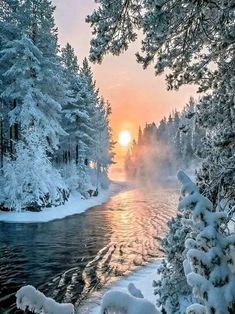 Dawn in Winter...