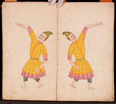 Page from a manuscript on puppetry