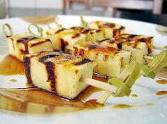 queijo coalho e melaco