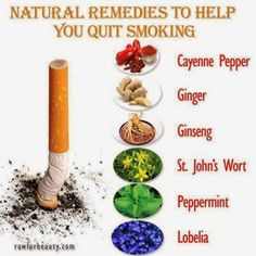 Quit Smoking:  Natural Remedies (herbs and spices) and changing your mindset, attitude and perspective