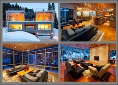 Amazing ski house in Alta, Utah.