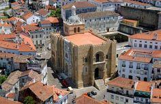 Coimbra old's cathedral, Centro de Portugal Region, Portugal
