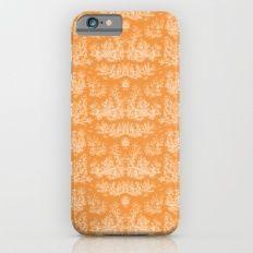 Chevron Toile, Orange Slim Case iPhone 6s