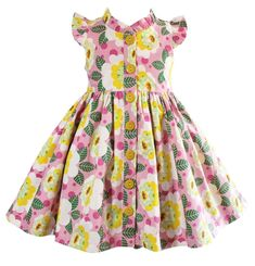 40bc887eb833 Buy Unicornland Flower Glen Park Dress at Little Miss Marmalade for only   39.00