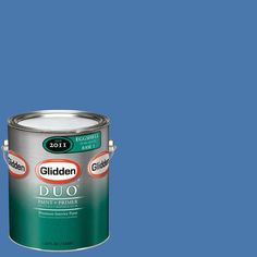 Glidden Team Colors 1-gal. #nfl-183B NFL Tennessee Titans Blue Eggshell Interior Paint and Primer