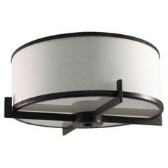 Eleanor Flush Mount in Oil-Rubbed Bronze