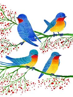 Birds by+APantherNamedAmelie