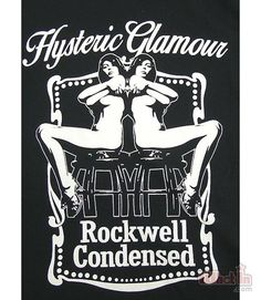 Hysteric Glamour Rockwell Condensed