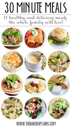 25 kid friendly healthy dinner recipes pinterest healthy recipes 30 minute meals 12 delicious and healthy meals the whole family will love forumfinder Choice Image