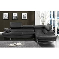 connor sectional color black to view further for this item visit the image link black sectionalleather sectional sofasbonded. beautiful ideas. Home Design Ideas
