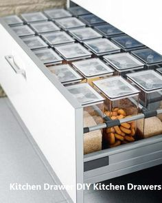 New Kitchen Drawers Ideas #kitchendrawers