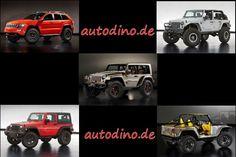Neue Jeep Konzepte für Die-hard off-road-Freaks