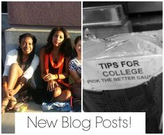 Go check out the new blog posts & catch up on the old ones :)
