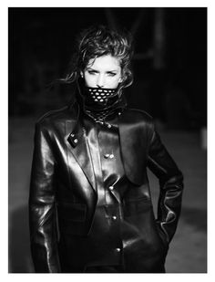 Kendra Spears Dons Military Style for Vogue Spain October 2012 by Lachlan Bailey | Fashion Gone Rogue: The Latest in Editorials and Campaigns