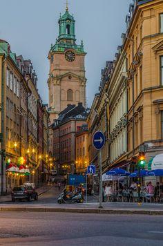 Stockholm,Sweden// northern summer twilight