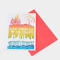 Los Angeles I'm Yours Card