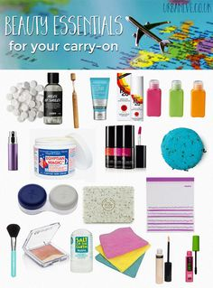 I love to travel and I love the challenge of bringing only carry-on luggage. It's a good opportunity to realise how little you really need and how you can minimalise your essentials. In this post, I collected all my personal favourite tips & tricks on how to pack a beauty bag that will fit your carry-on AND see you through a whole week or more.