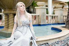 Dev Cosplay: Khaleesi Daenerys Targaryen from Game of Thrones in Otaku House Cosplay Idol 2012