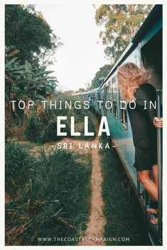 11 AMAZING THINGS TO DO IN ELLA, Sri Lanka | As a popular destination on any itinerary for Sri Lanka, this is a town worth visiting. Find out all the best things to do in Ella and why you should visit.