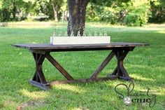 diy farm table.
