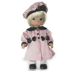 PRECIOUS-MOMENTS-12-Collector-Doll-WARM-YOUR-HEART-PINK-No-4676