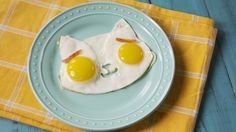 This amazing mold turns your fried eggs into Hello Kitty...whip up a batch right meow.