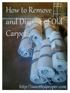 How to Remove Old Carpet in Your House | DIY Carpet Removal | Step by Step How to Take Up Carpet