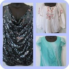 #SOLD - More cute tops but these are gone! #tops #blouses #cuteclothes #curvyfashion #trendy #curvy #curves #buynow #onsale #greatdeals #plussize  More tops available urbanthick.com