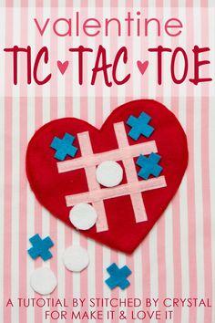 Valentine Tic-Tac-Toe Game