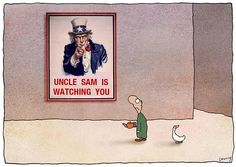 Uncle Sam - Michael Leunig