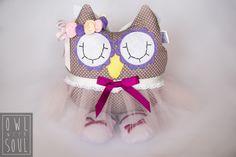 Owl Fairy  100% handmade by Owl with Soul