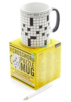 A Way With Crosswords Mug $14.99 For dad, perhaps?