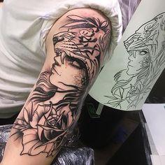 Resident artist - Isnard Barbosa dublin ink #tattoo#Dublin #art #Ireland