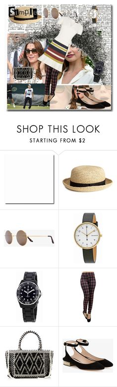 """""""Tennis Anyone? Wimbledon ready"""" by peeweevaaz ❤ liked on Polyvore featuring H&M, Sunday Somewhere, Skagen, TAG Heuer, Antonello Tedde, Nicholas Kirkwood, outfit, summerstyle, polyvoreeditorial and polyvorefashion"""