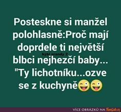 Posteskne si manžel polohlasně Jokes Quotes, Memes, 2 Baby, Just For Laughs, Funny People, Funny Texts, The Funny, Haha, Funny Pictures