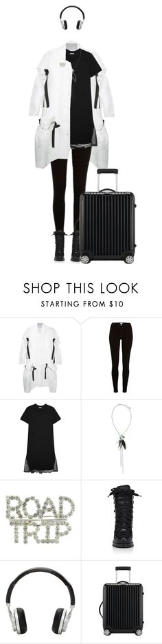 """""""""""You don't tell me but you want me to know..."""" - Tell Me What To Do, SHINee"""" by andrea-garzon ❤ liked on Polyvore featuring Roberts-Wood, River Island, Clu, Lanvin, Christian Louboutin, Master & Dynamic and Rimowa"""