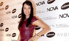 BurgundyMônica Carvalho estava toda trabalhada no couro! No começo do ano, a atriz participou do reality Aprendiz Celebridades.  Foto: Renata Chede