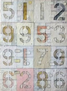 New painting by Toronto Artist, Michael Brown. 16 random numbers between 0 and mixed media on canvas, x x 2019 Michael Brown, Canadian Art, Archaeological Site, Mixed Media Canvas, Numbers, Toronto, Portrait, Random, Gallery