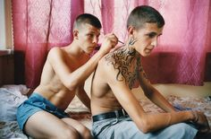 exploring adolescence by Claudine Doury