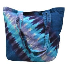 Twilight Tie Dye Tote Bag