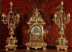 filigree garniture AntikvarnoAuktsionnoe   Chasy.Evropa XlX century .. Comments: LiveInternet - Russian Service Online Diaries