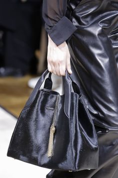 Lanvin Fall 2017 Ready-to-Wear Collection Photos - Vogue; Pony Hair Tote