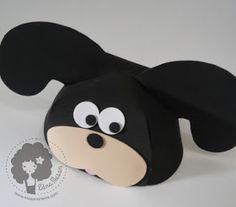 Cristãos kids: Bonés em eva de bichinhos com molde Zoo Crafts, Three Little Pigs, Animal Hats, Handicraft, Safari, Minnie Mouse, Projects To Try, Creations, Classroom