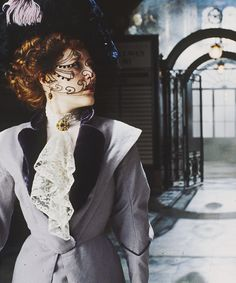 Gillian Anderson as Lily Bart in The House of Mirth (2000)