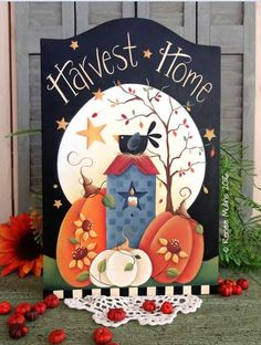 #693  Harvest Home (PATTERN PACKET)